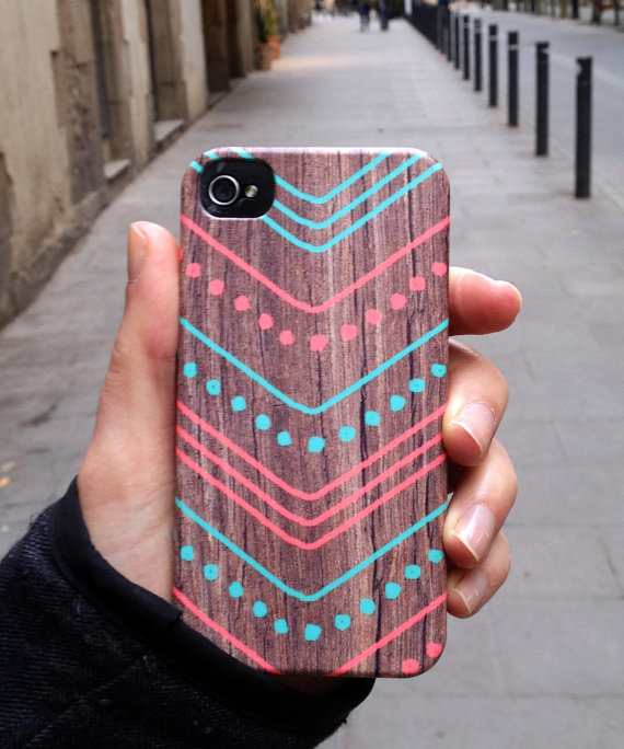 funda de iphone con estampado tribal