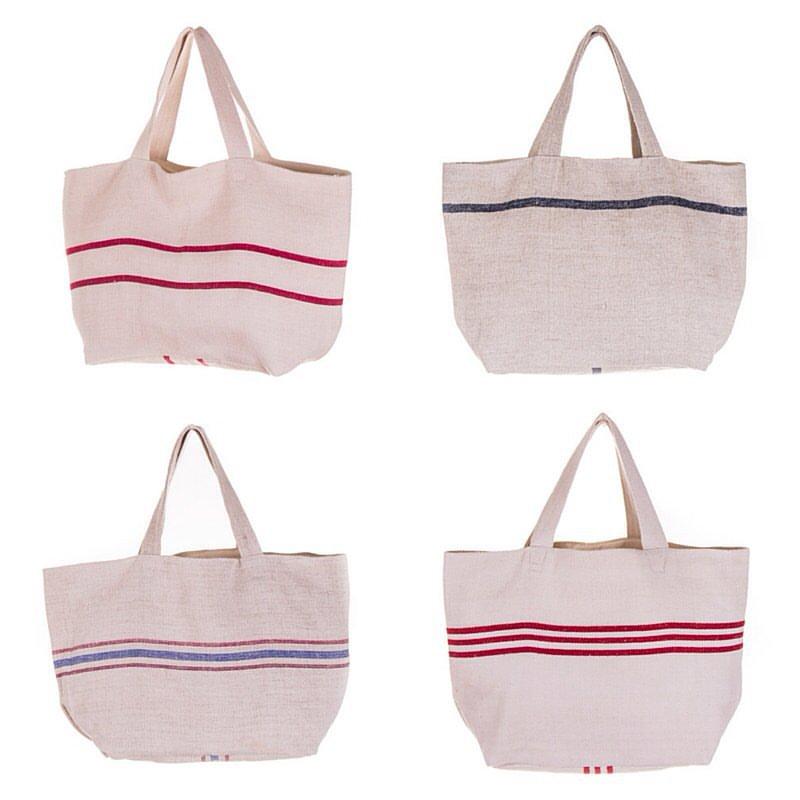bolsos de lino artesanales