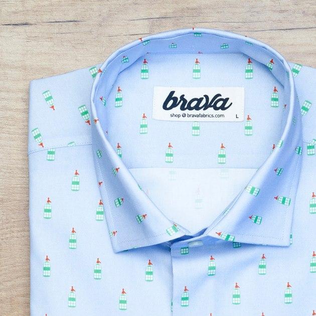 camisas estampadas brava fabrics