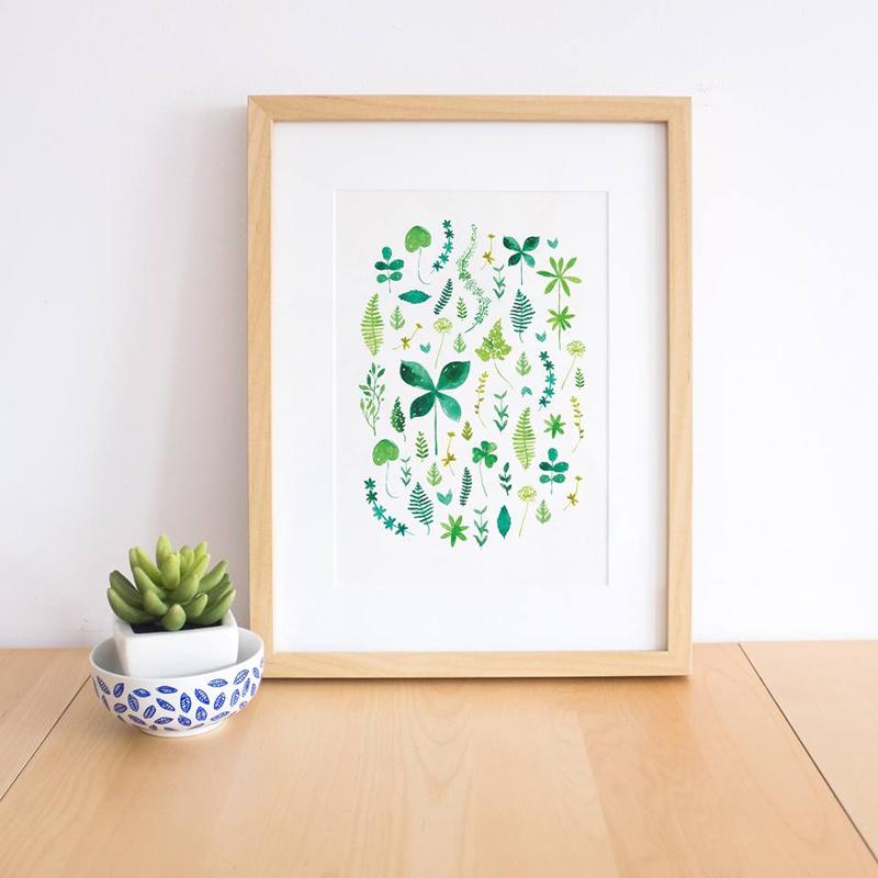ilustracion hojas
