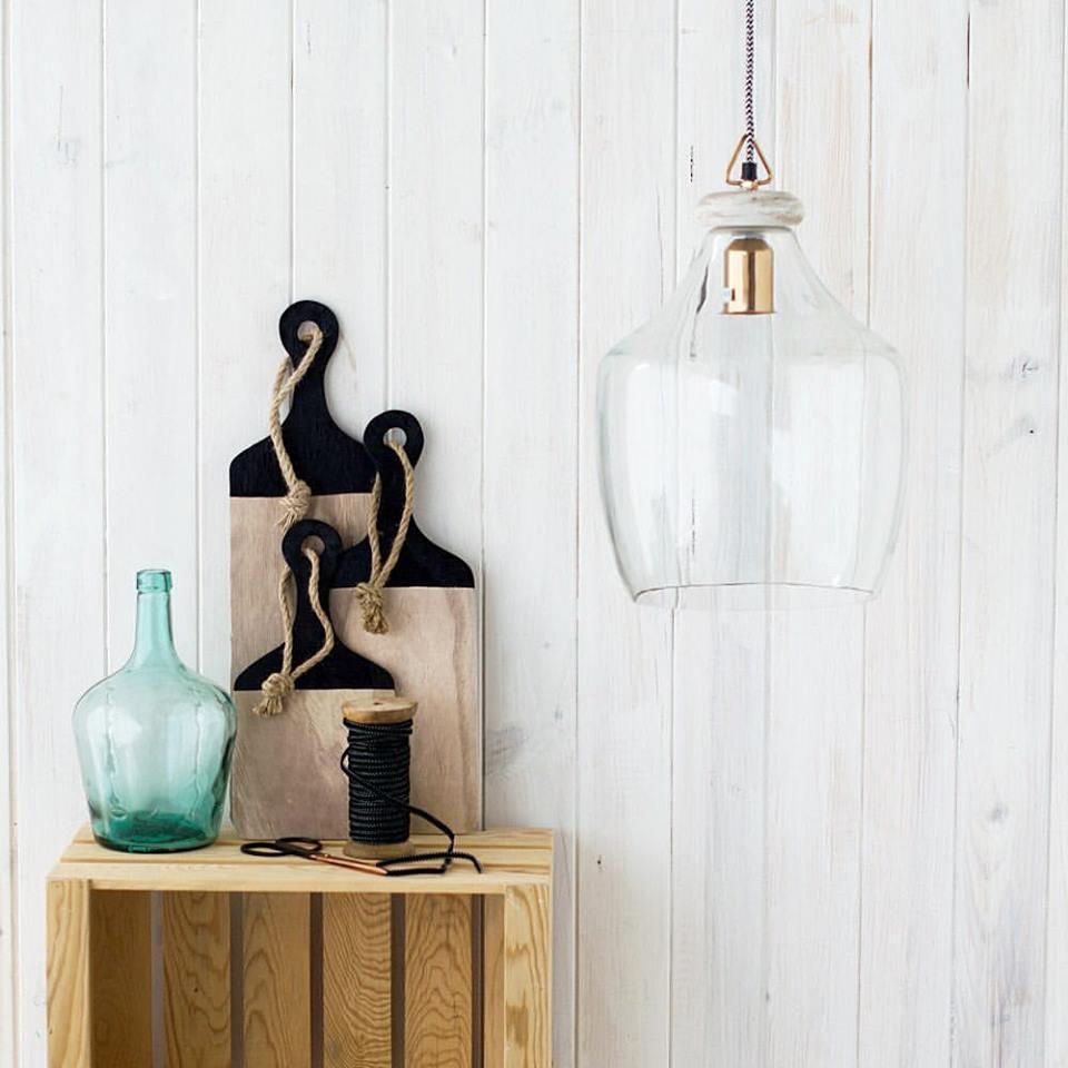 lampara cristal vinatge