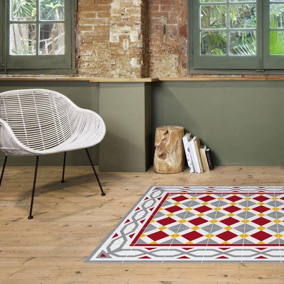 Es tendencia alfombras de suelo hidr ulico for Alfombras vinilicas ikea