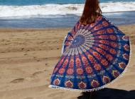 Toallas mandala y Kaftanes bordados para el verano
