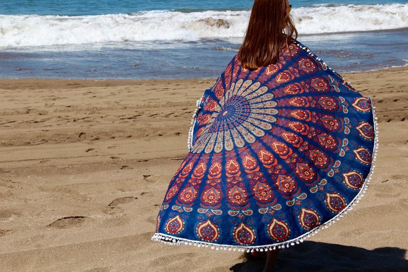 mandala redonda playa