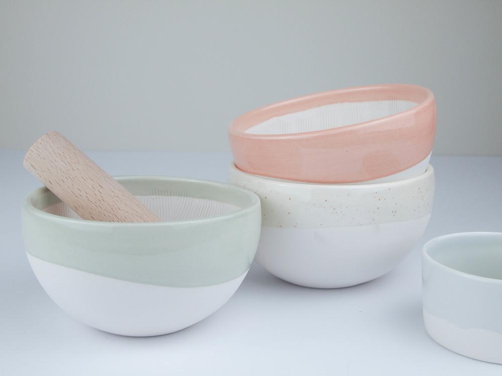 mortero ceramica