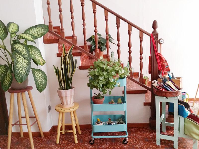 rincones plantas escalera