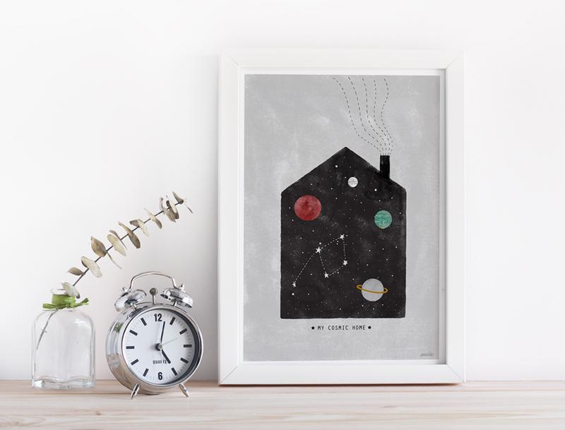 nuria-diaz-ilustracion-lamina-cosmic
