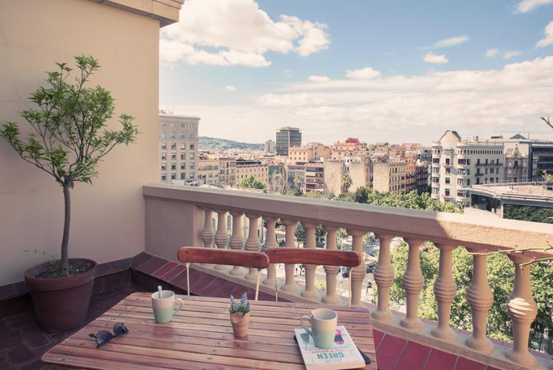 casa gracia terraza