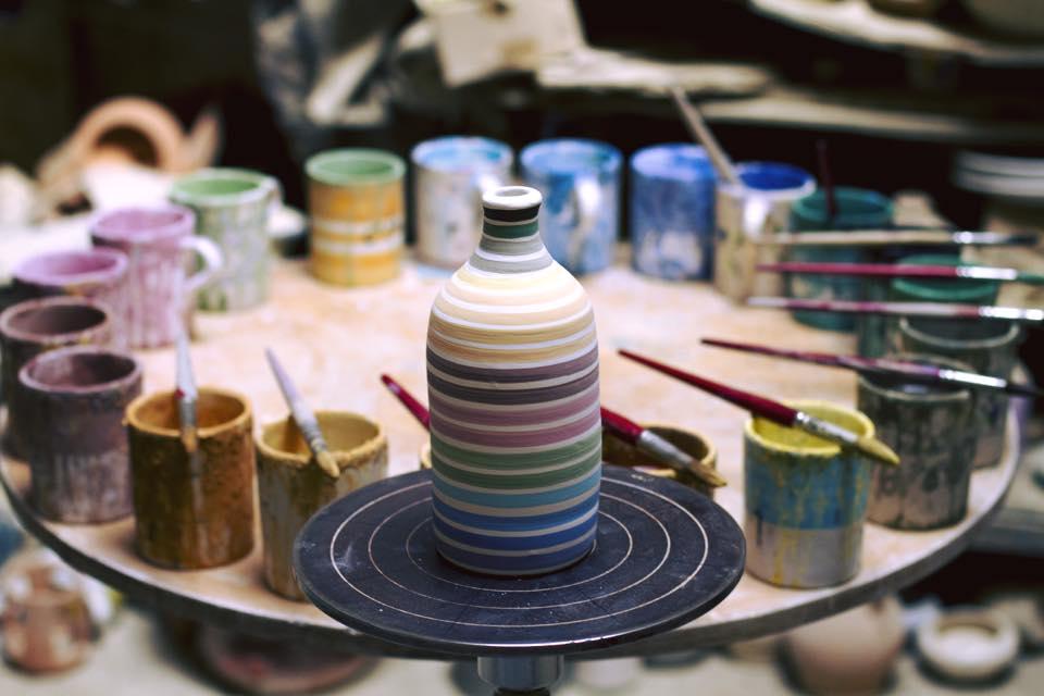 ceramica colores puglia