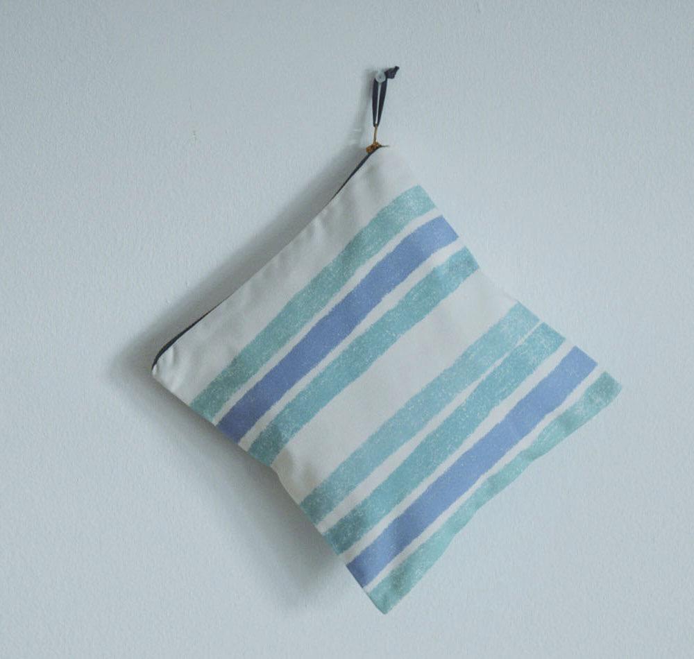 bolsa pouch azul