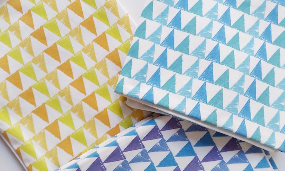 cojin triangulos studio en papier